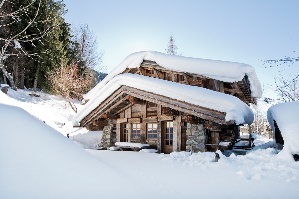 FD Chalet Granges 01 - Rustic chalet with a twist