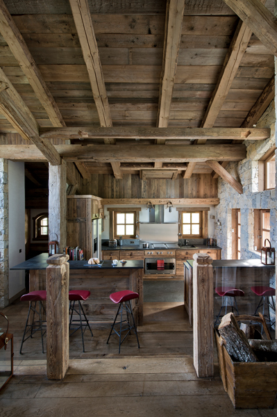 FD Chalet Granges 08 - Rustic chalet with a twist
