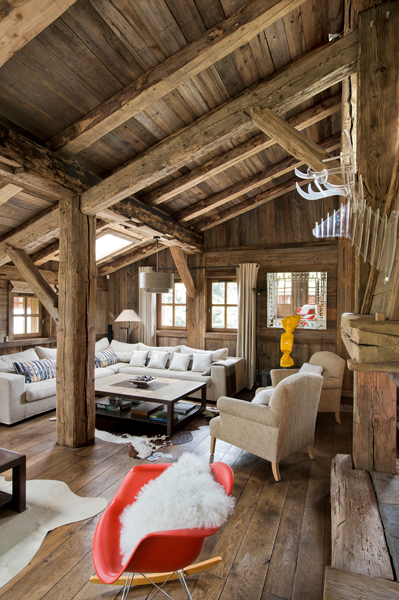 FD Chalet Granges 16 - Rustic chalet with a twist