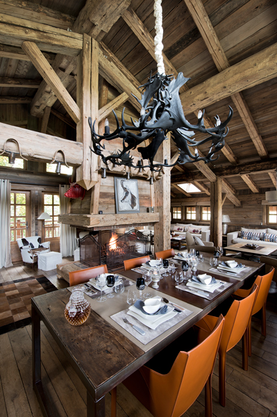 FD Chalet Granges 20 - Rustic chalet with a twist