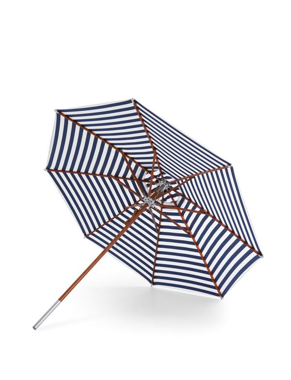 1910091 Atlantis Umbrella Oe330 Dark Blue Stripes portrait - Sommer nyheder